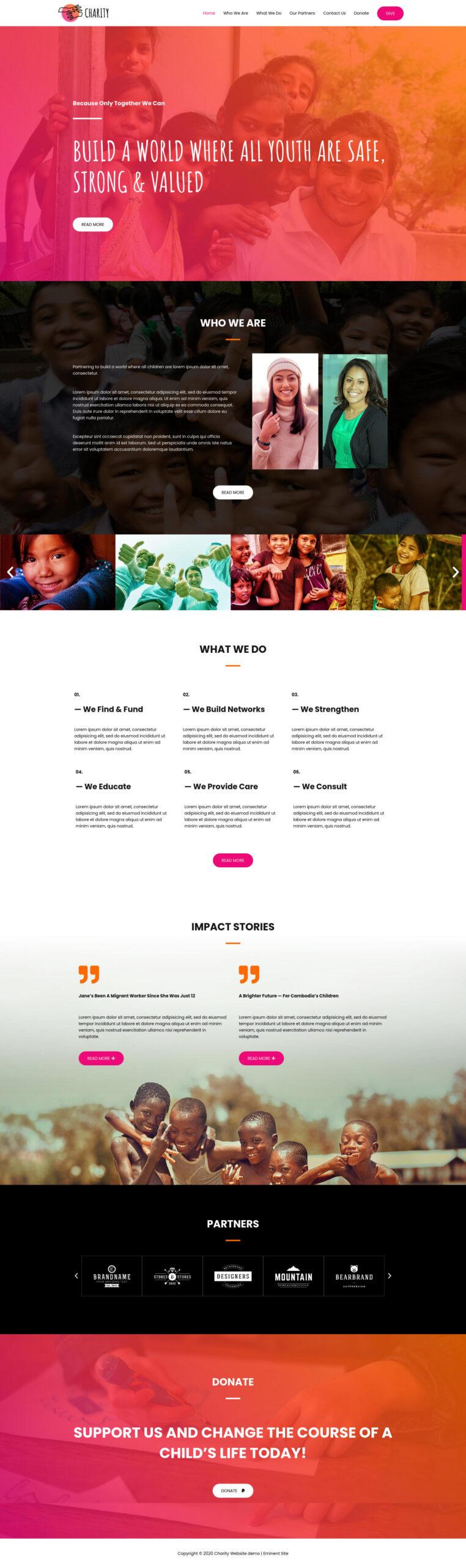Charity-NGO-website-demo-full