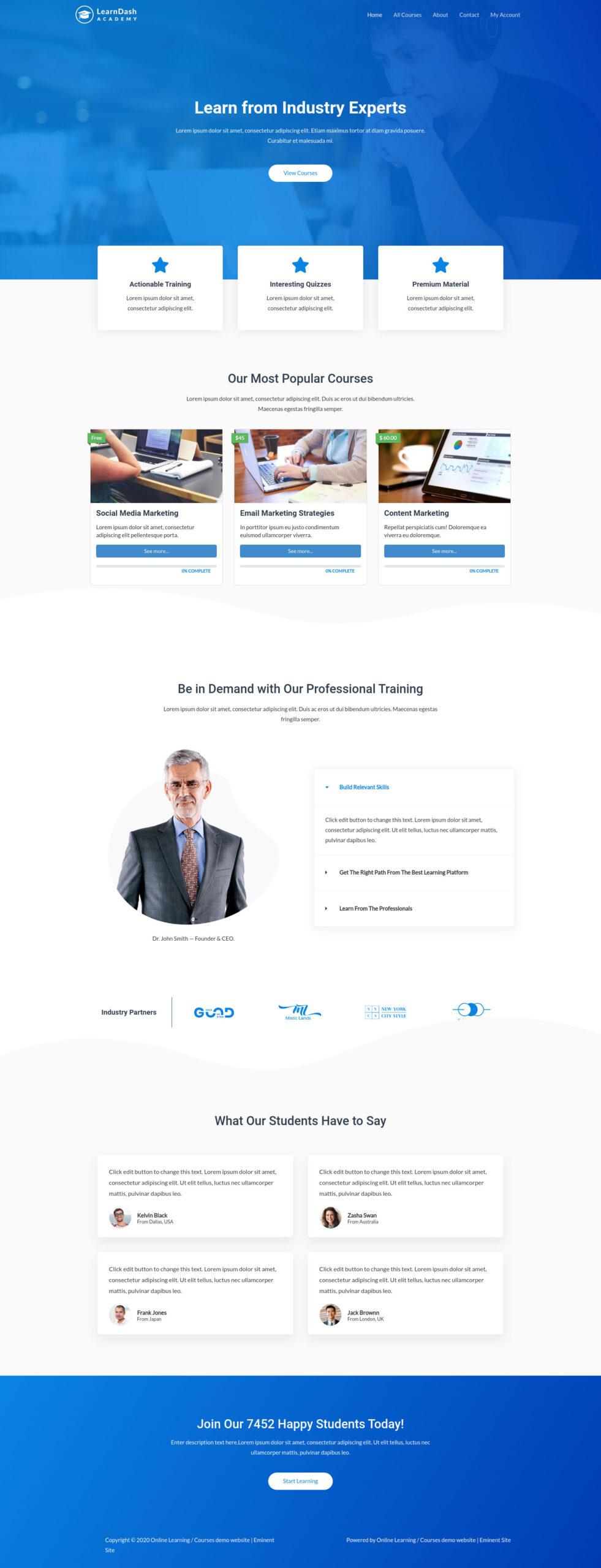 Online-Learning-Website-full