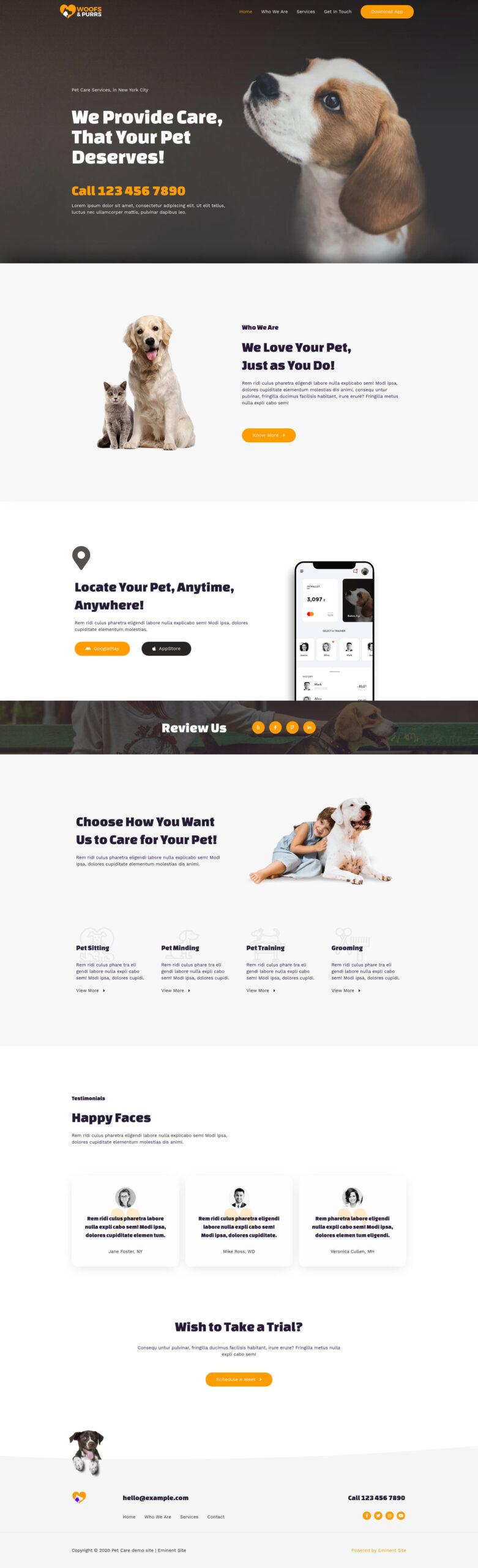Pet-Care-website-full